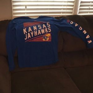 Kansas Jayhawks Adidas Long Sleeved shirt